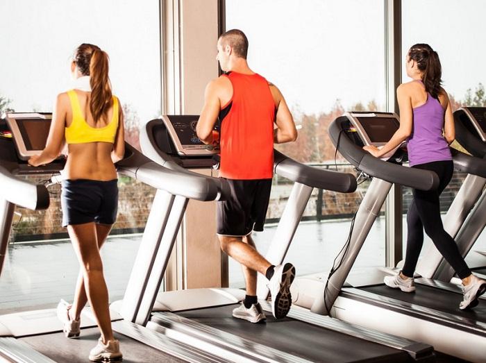 Máy chạy bộ điện cho phòng gym