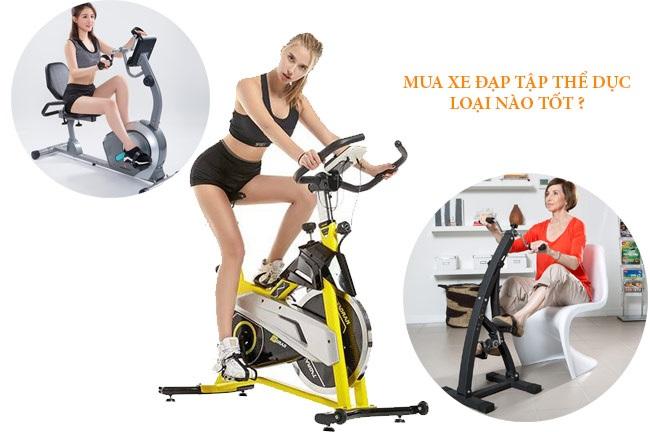 Kinh nghiệm mua xe đạp tập thể dục tại nhà giá rẻ chất lượng hàng chính hãng.