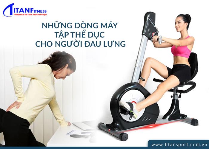 máy tập thể dục cho người đau lưng  hiệu quả
