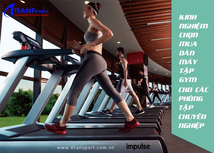 Kinh nghiệm chọn mua dàn máy tập gym cho các phòng tập chuyên nghiệp