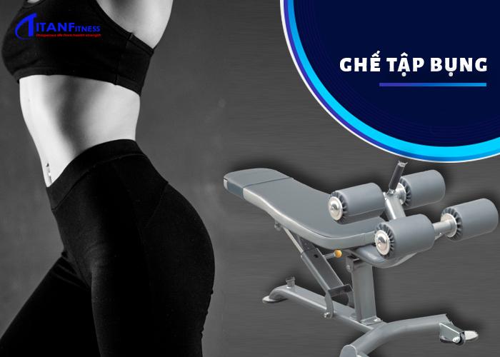máy tập gym giảm mỡ bụng cho nữ