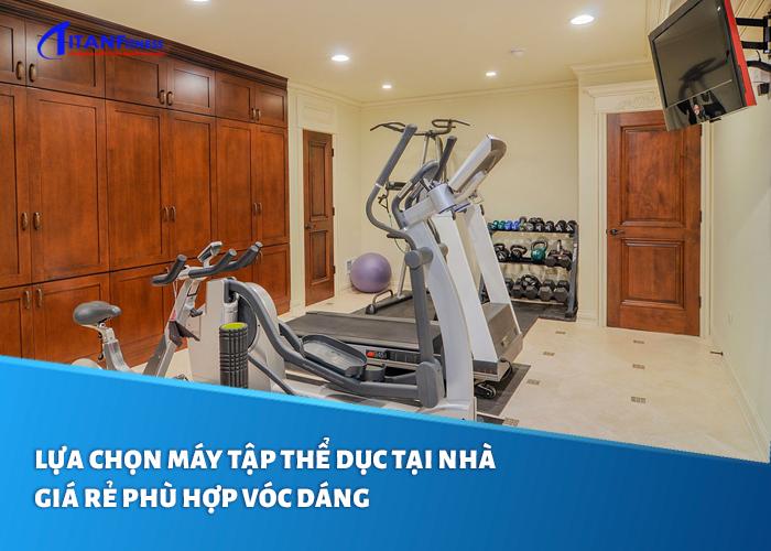 máy tập thể dục tại nhà giá rẻ